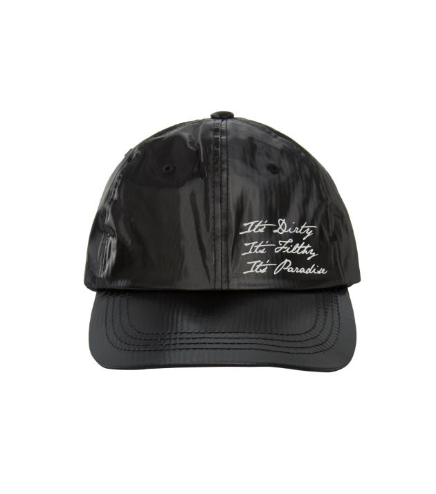 NONAGON SYNTHETIC BALLCAP BK